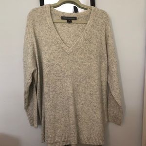 French Connection Women's V-neck Sweater Oversized